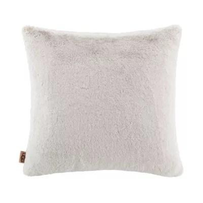 faux fur pillows bed bath beyond