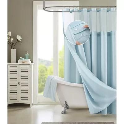 madison park aubrey jacquard shower curtain