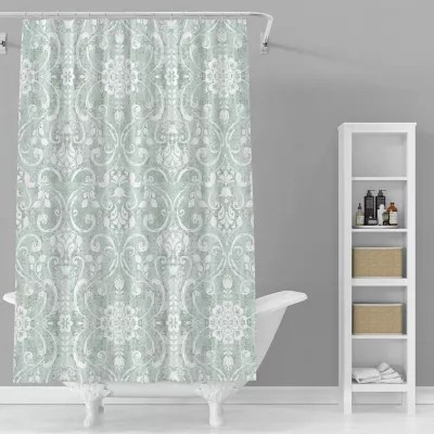 peri home textured paisley shower curtain collection