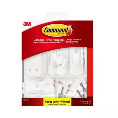 3 m adhesive hooks for curtain rods