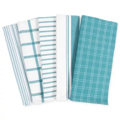 kitchen towels cosco stool bed bath and beyond canada kaf home set of 5
