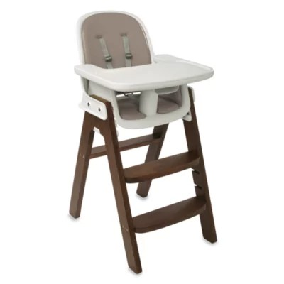 oxo tot sprout chair replacement cushion set taupe office knoll high in walnut bed bath beyond