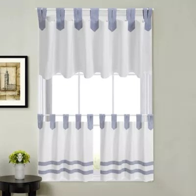 tab top kitchen curtains bed bath