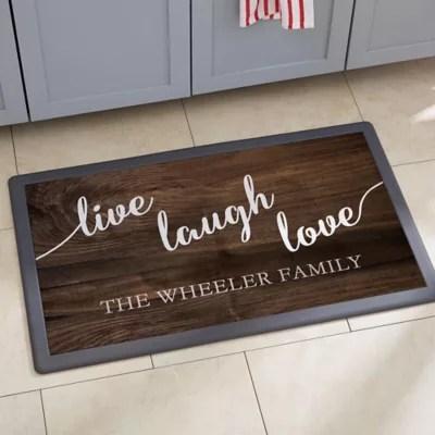 live laugh love kitchen mat bed