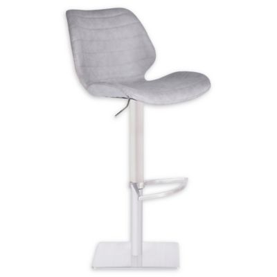 bar stool chair grey rattan lounge counter stools swivel metal leather bed bath armen living faux falcon
