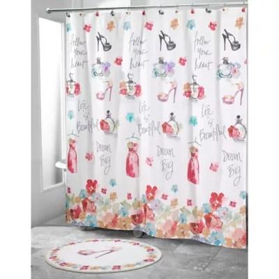 heart shower curtain bed bath beyond