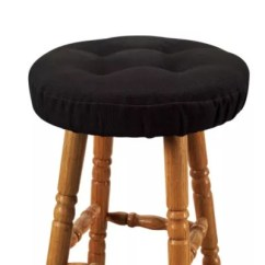Chair And Stool Covers Dining Cushions With Ties Nz Bar Bed Bath Beyond Klear Vu Embrace Barstool Cover In Black