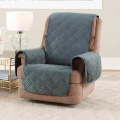 Waterproof Chair Covers For Recliners Wedding Mansfield Recliner Cover Bed Bath Beyond Sure Fit Reg Triple Protection