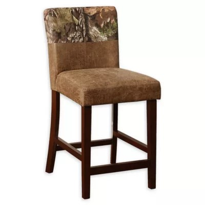 bar stool chair rung protectors baby support foot rail protector bed bath beyond linon home mossy oak and counter stools