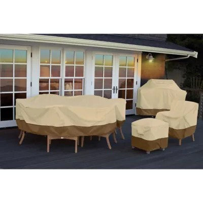 bed bath and beyond patio chair covers navy blue nursery rocking furniture chaise loveseat classic accessories veranda cover collection