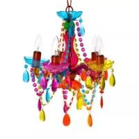 Buy Gypsy Small 5-Light Chandelier Lamp in Multi-Color ...