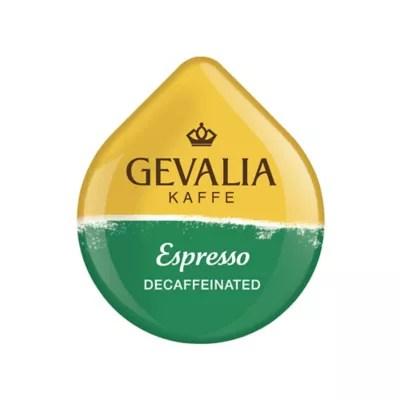 Gevalia 16 Count Espresso Decaf T DISCs For Tassimo