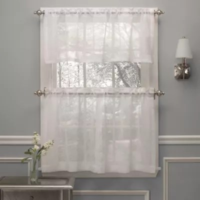grommet kitchen curtains installing flooring bath bed beyond crushed voile window curtain tier pair