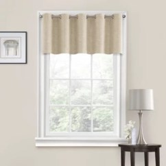 Valances For Kitchen Windows Remodeling Ideas Pictures Scarves Bed Bath Beyond Quinn Grommet Window Valance