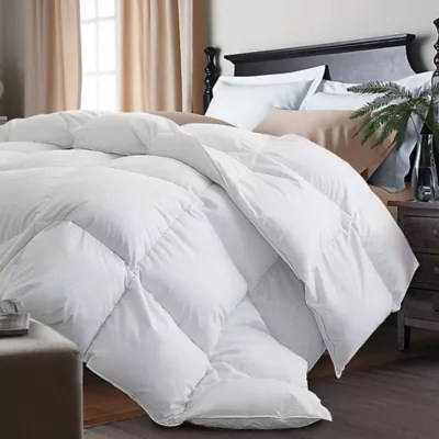 kathy ireland white goose feather and goose down comforter