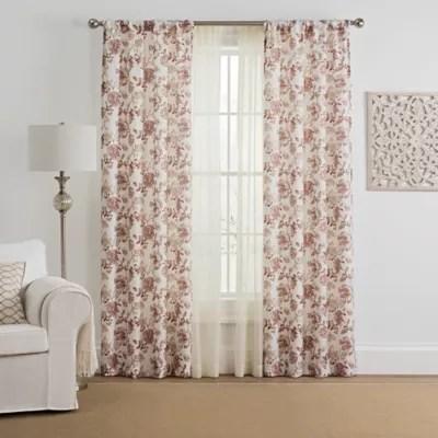 4 piece curtain set bed bath beyond