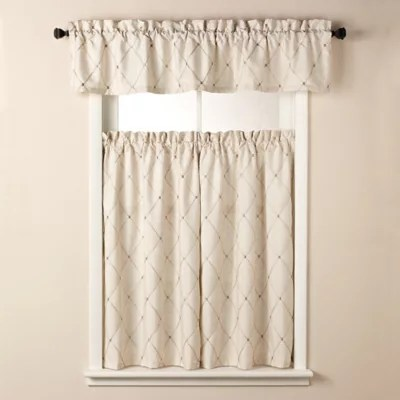 matching shower and window curtains