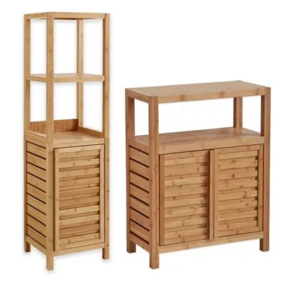 Haven No Tools Bamboo Bathroom Furniture Collection  Bed