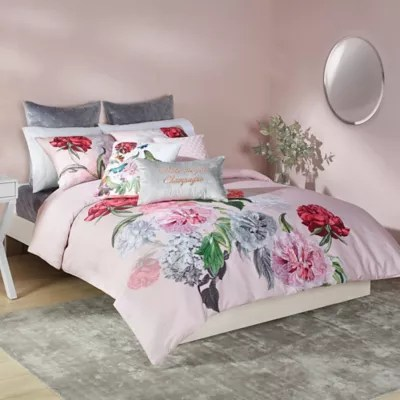 ted baker london ted baker london palace gardens full queen duvet cover set in pink from buybuy baby accuweather