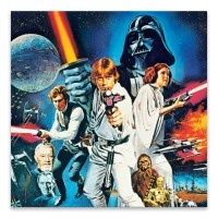 Star Wars The Empire Strikes Back Canvas Wall Art ...
