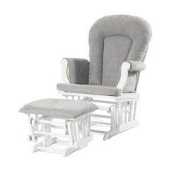 Best Chairs Geneva Glider White Gold Bow Chair Covers Baby Gliders Rockers Rocking For Nursery Bed Bath Beyond
