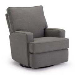 Best Chairs Swivel Glider Recliner Kidkraft Farmhouse Table And Chair Set Natural Kersey Buybuy Baby In Charcoal