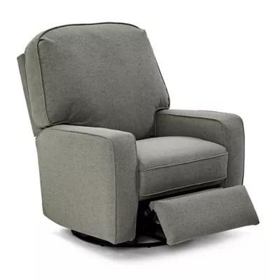 best chairs swivel glider upholstered dining room bilana recliner bed bath beyond