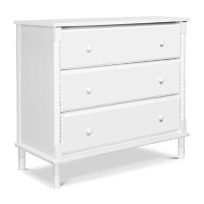 Changing Tables  DaVinci Jenny Lind 3Drawer Changer Dresser in White