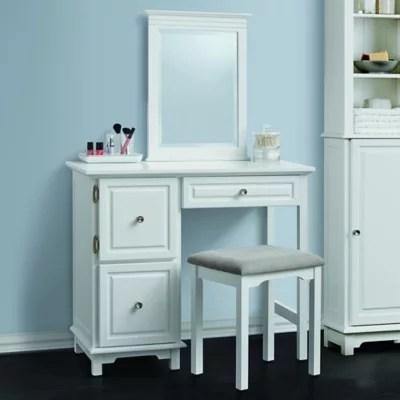 bathroom makeup chair modern bar chairs south africa vanity set table bed bath beyond wakefield 2 piece