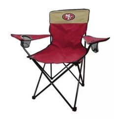 49ers Camping Chair Frank Gehry Cardboard Chairs Bed Bath Beyond Nfl San Francisco Legacy Folding