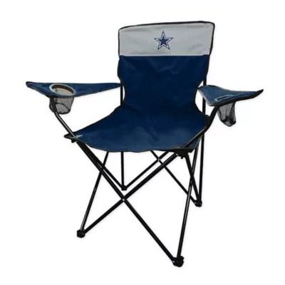 dallas cowboys folding chairs santa hat chair covers uk bed bath beyond nfl legacy