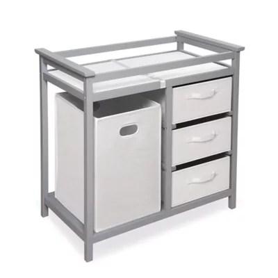 grey changing table dresser bed bath