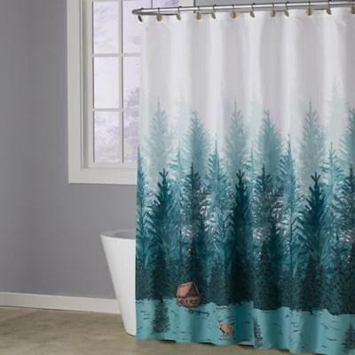 cabin shower curtain bed bath beyond