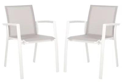 stackable outdoor chairs baja beach bed bath beyond safavieh negan patio in grey set of 2