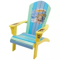 Patio Folding Chair Plush Animal Chairs Benches Plastic Bed Margaritaville State Of Mind Multicolor Adirondack