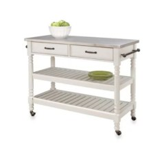 Rolling Cart For Kitchen Copper Items Islands Carts Bed Bath And Beyond Canada Home Styles Savannah