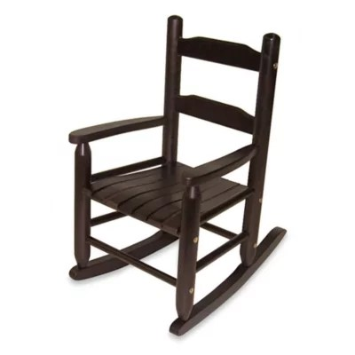 types of rocking chairs chair cover rentals pensacola fl baby playroom product type bed bath beyond lipper international child s in espresso