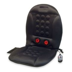 Chair Seat Covers Bed Bath And Beyond Anti Gravity With Canopy 12 Volt Infra Heat Massage Cushion