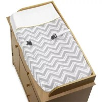 Sweet Jojo Designs Zig Zag Chevron Crib Bedding Collection