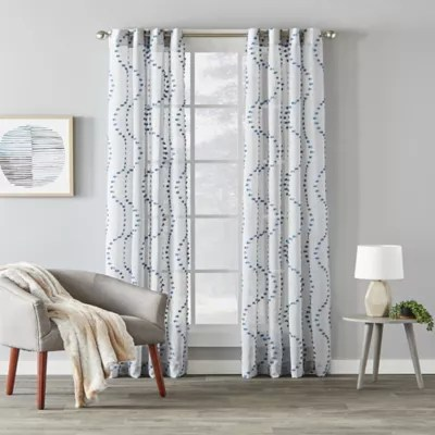 light blue curtains bed bath beyond