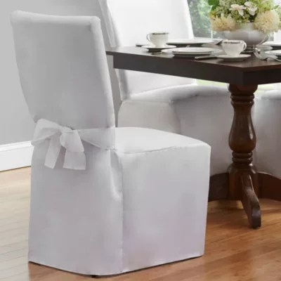 chair covers for dining room kids reading slipcovers seat bed bath beyond cover