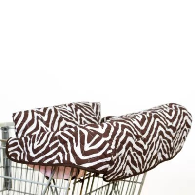 zebra high chair steel floor protectors pam grace creations zara shopping cart and cover in view a larger version of this product image