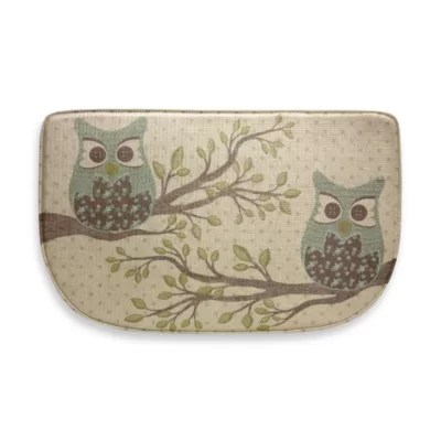 owl kitchen rugs sinks undermount bacova duet 18 inch x 30 memory foam slice rug bed bath beyond