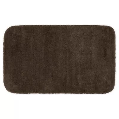 chocolate brown bathroom rugs bed