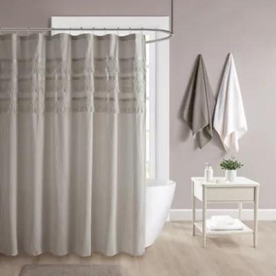 lush decor 72 inch x 72 inch cape cod stripe shower curtain