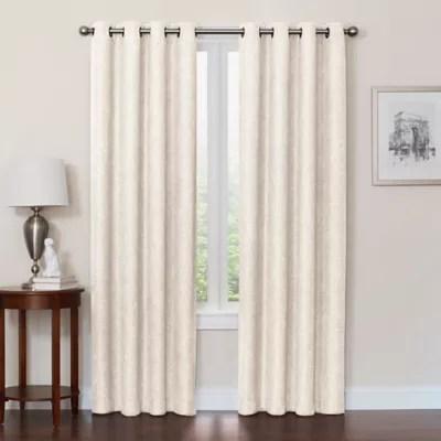 linen blackout curtains bed bath beyond