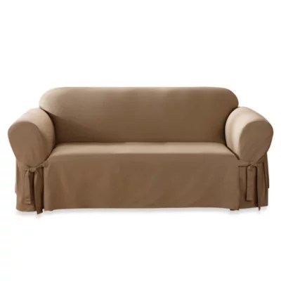 sofa covers toronto canada sectional sofas greenville sc furniture bed bath and beyond sure fit duck supreme cotton slipcovers