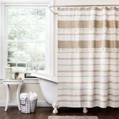 gold shower curtain bed bath beyond