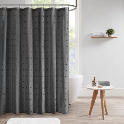 charcoal shower curtain bed bath beyond