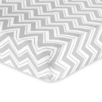 Sweet Jojo Designs Zig Zag Crib Bedding Collection in Grey